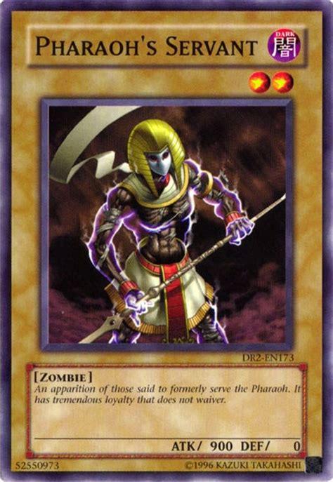 yugioh pharao deck pharaoh s servant card yu gi oh yugioh