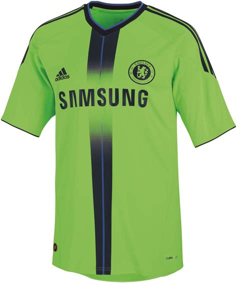 Jersey Chelsea 3rd 2008 Chelsea Adidas 10 11 Third Kit Soccerreviews