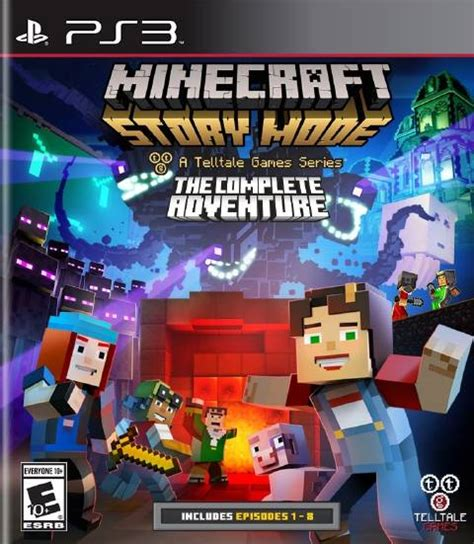 ps3 themes minecraft story mode minecraft story mode the complete adventure download free