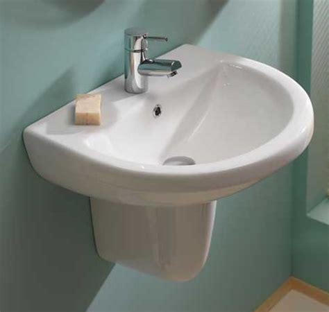 Curved Shower Screens For Corner Baths aerial semi pedestal basin 50x41cm 1th hugo oliver