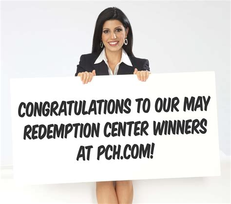 Pch Cm - the results are in may redemption center winners at pch com pch blog