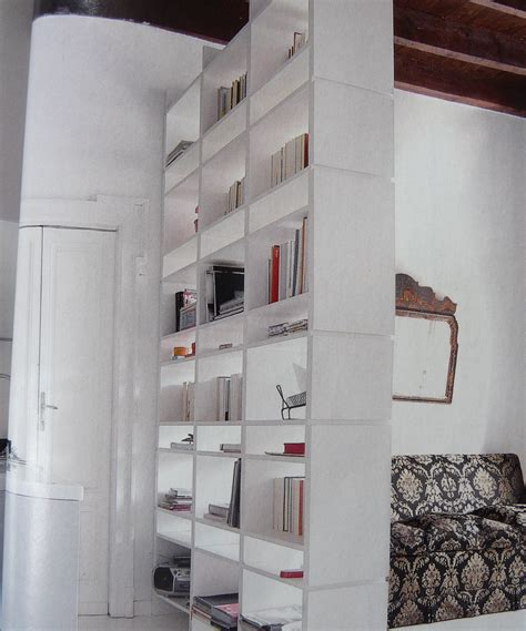 room dividers bookshelves with modern white ractangle