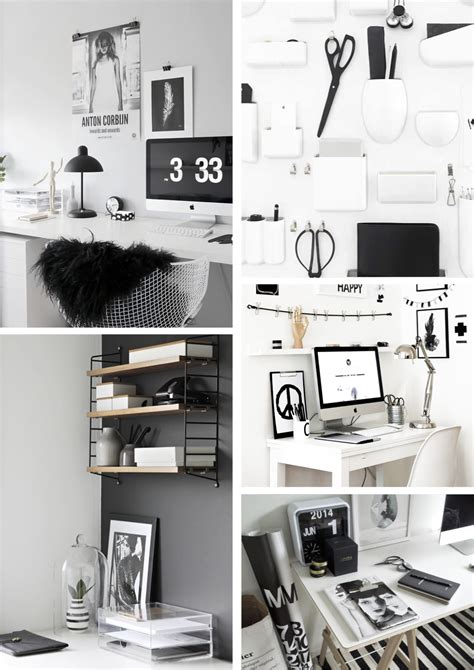 design my office workspace d design office a monochrome workspace
