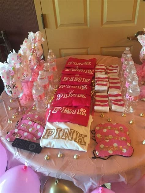 pin  bre pittman  girls night birthday party  teens sleepover birthday parties hotel