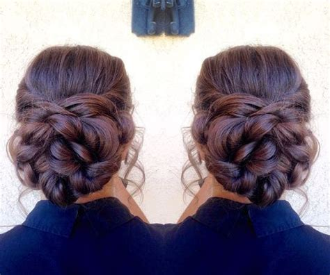 how to put thick braids in a bun 35 braided buns re inventing the classic style