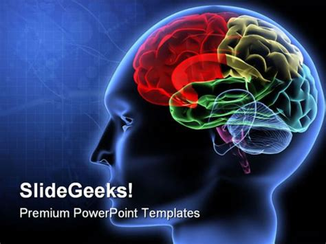 Powerpoint Templates Free Brain | brain science powerpoint template 0610
