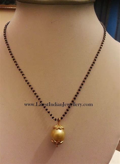black bead necklace indian 81 best chains images on india jewelry gold