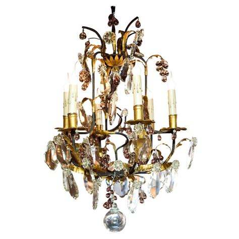 Grape Chandelier Chandelier With Grape Clusters At 1stdibs