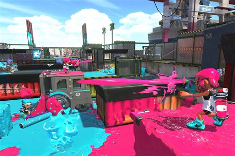nintendos excellent shooter splatoon