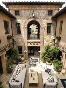 homes with courtyards courtyard italian villa style home homes mediterranean