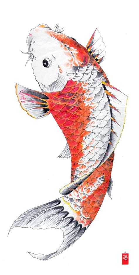 tattoo flash lessons 38 best koi fish art lesson images on pinterest fish