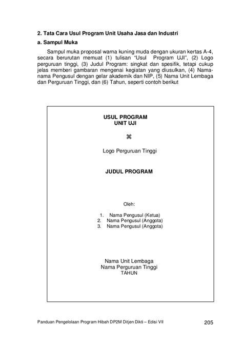 format proposal usaha proposal usaha