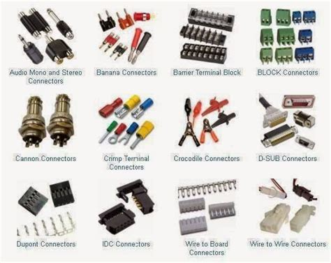 kinds of electrical connections types of connectors electrical engineering books