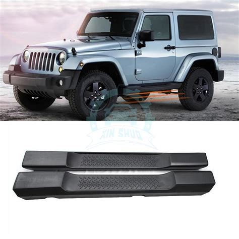 Jeep Step Bars For Jeep Wrangler 2 Door 07 15 Sport Nerf Bar Side Step