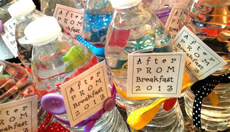 after prom breakfast favors and - After Decorations