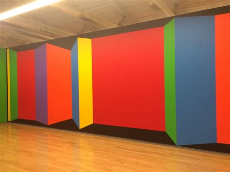 acrylic paint for wall sol lewitt s influential drawings on walls around the