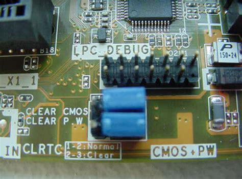 reset bios hp dc7900 hp and compaq desktop pcs clear cmos setting printed