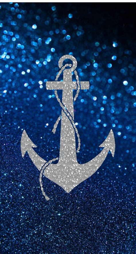 glitter wallpaper iphone 5 blue glitter and sliver anchor pattern phone wallpapers