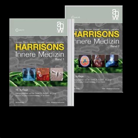 harrison innere medizin harrisons innere medizin 4 b 228 nde incl registerband und onlinematerial