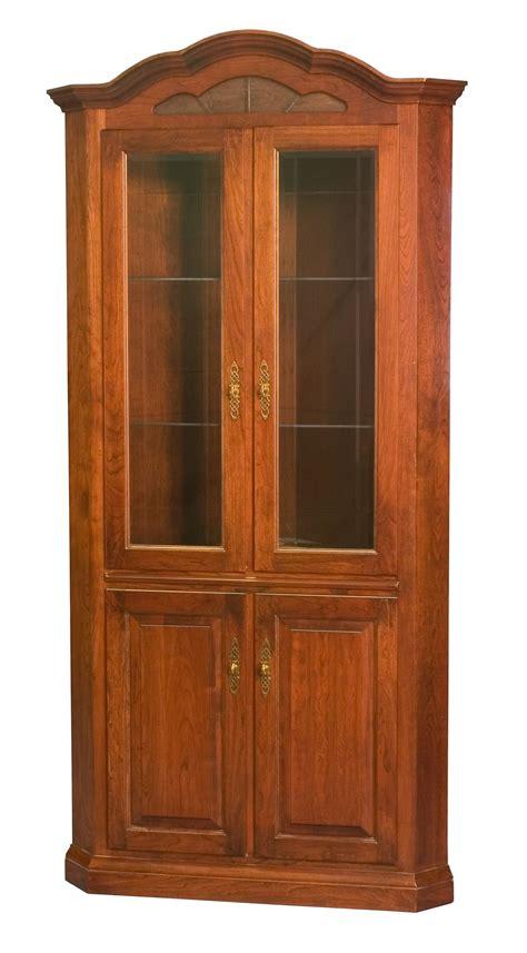 Corner dining room cabinet hutch