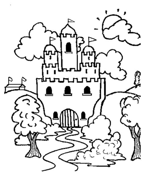 coloring pictures of knights and castles castles and knights az coloring pages
