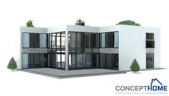 Contemporary Homes Floor Plans by Contemporary House Plans Contemporary Home Ch168
