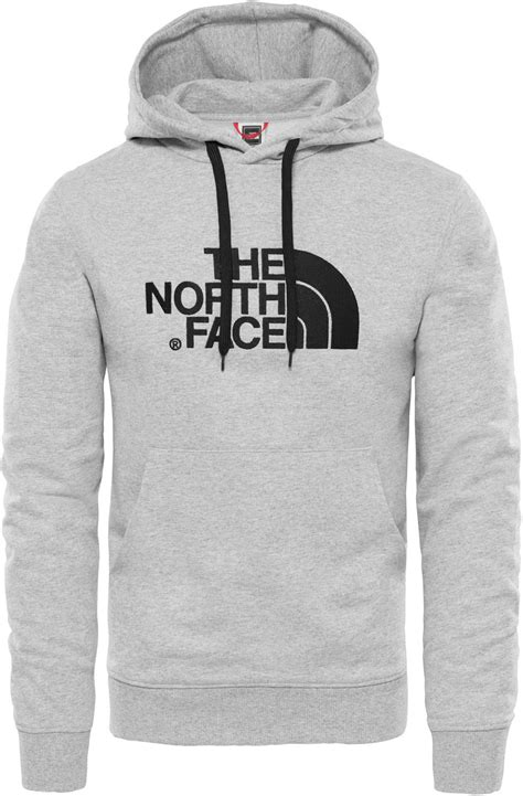 The North Face Light Drew Peak hoodie grey heather