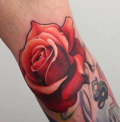 rose realism tattoo realistic tattoos piercings