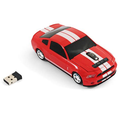 car wireless road mice ford mustang shelby gt500 car wireless computer