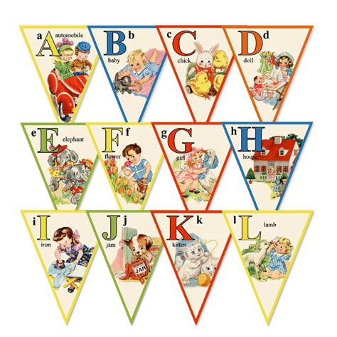 printable bunting letters 17 best images about pennants garlands buntings on