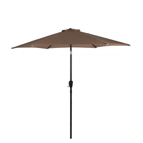 Aluminum Patio Umbrellas New Patio Umbrella 9 Aluminum Patio Market Umbrella Tilt W Crank Outdoor 9638 Ebay