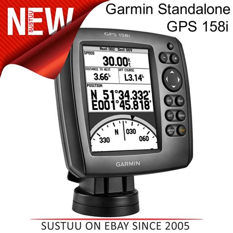 new boat gps new garmin standalone gps 158i with built in gps receiver
