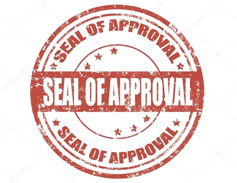 rubber st approval seal of approval st stock vector 169 carmen dorin 29170449
