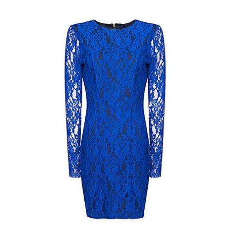 jurken tricot chic jurk blauw