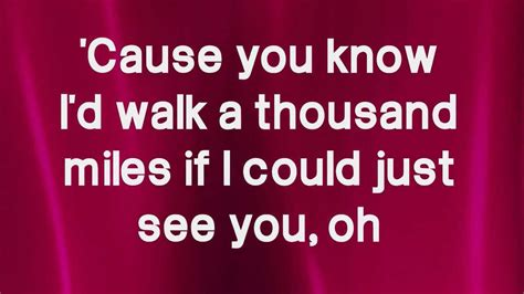 we re a thousand miles from comfort lyrics a thousand miles victoria justice lyrics hd youtube