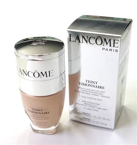 Foundation Lancome Teint Visionnaire maggie s makeup lanc 244 me teint visionnaire skin correcting