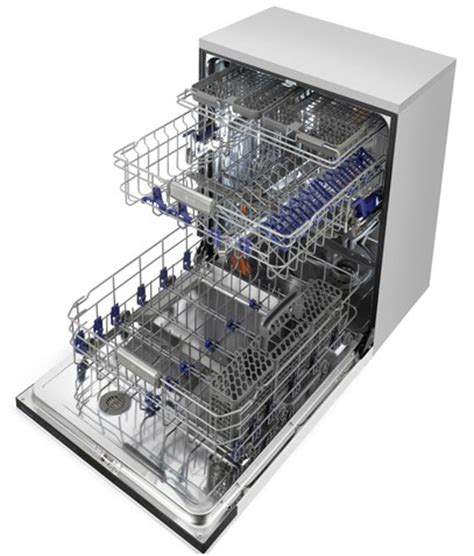 Dishwasher With Stainless Steel Racks by Ldf8874st Lg Fully Integrated Steam Dishwasher With Third