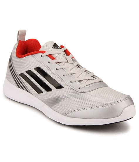 adidas adiray silver running sports shoes snapdeal price