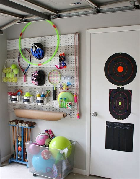 Garage Sports Storage Ideas 25 Best Ideas About Sports Equipment Storage On