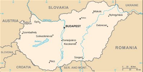 hungary on a world map location of hungary