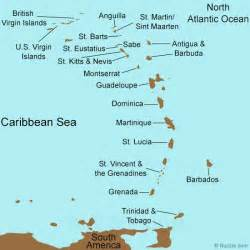 map of eastern us islands eastern caribbean cruise islands punchaos