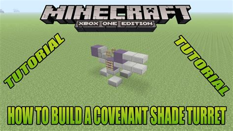 construct 2 gun tutorial minecraft xbox edition tutorial how to build a covenant