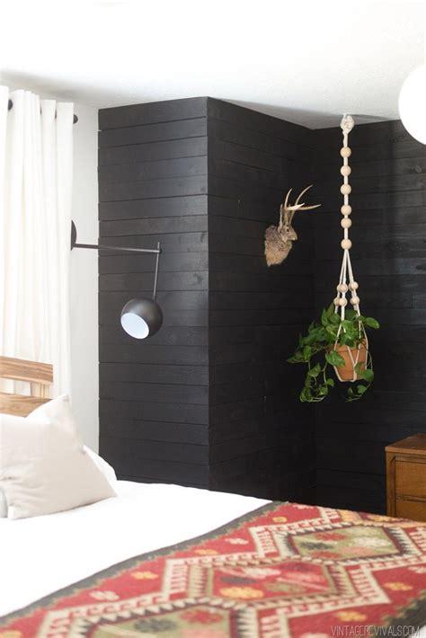 Bedroom Inspo Come To The Dark Side Jojo How To Diy Black Shiplap