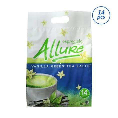 Esprecielo Green Tea Latte Eco Bag 14 Sachet 24gram jual esprecielo vanilla green tea latte minuman instan 14 sachet harga