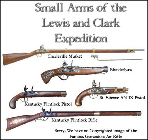 weapons of the lewis and clark expedition books lewis and clark expedition before the west was