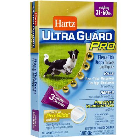 Hartz Ultra Guard Flea Tick Drops For 60 Lbs 108663 hartz ultraguard pro drops for dogs 31 60 lbs healthypets