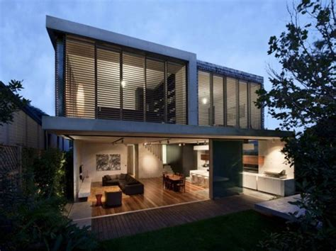 modern concrete structures house design in sydney