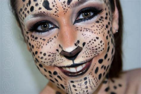 imagenes de halloween redondas maquillaje de fantas 237 a de leopardo