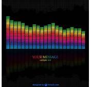 Muziek Equalizer Vector Download  Gratis