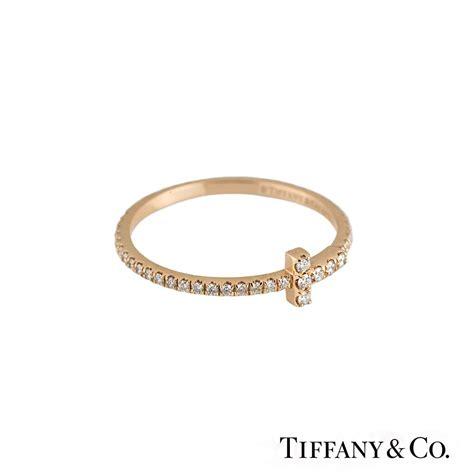 Tiffani Set Tifani co 18k gold set t wire ring